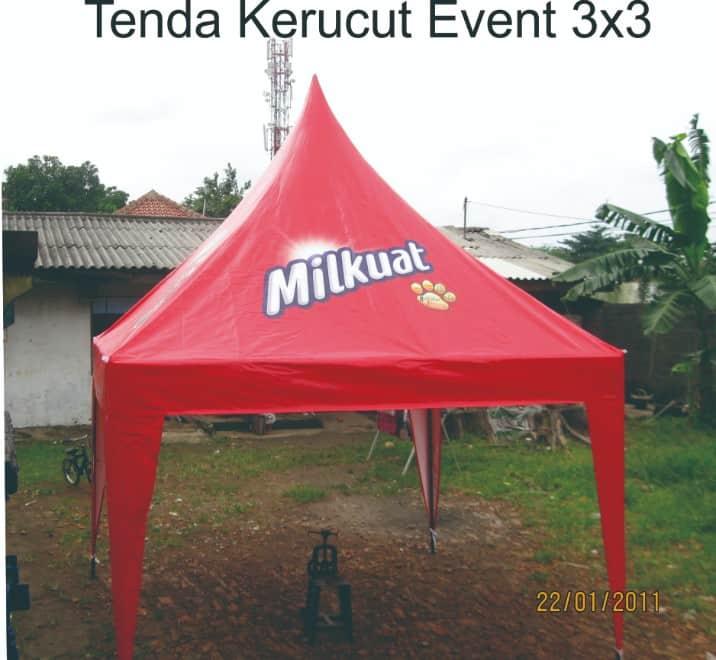tenda event bentuk kerucut