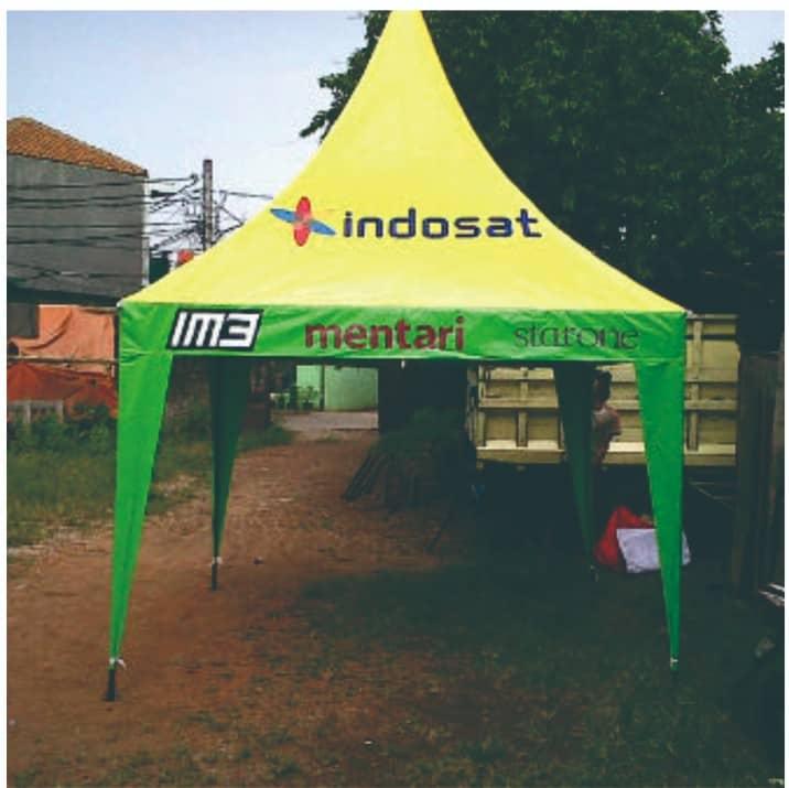 tenda kerucut untuk brand event