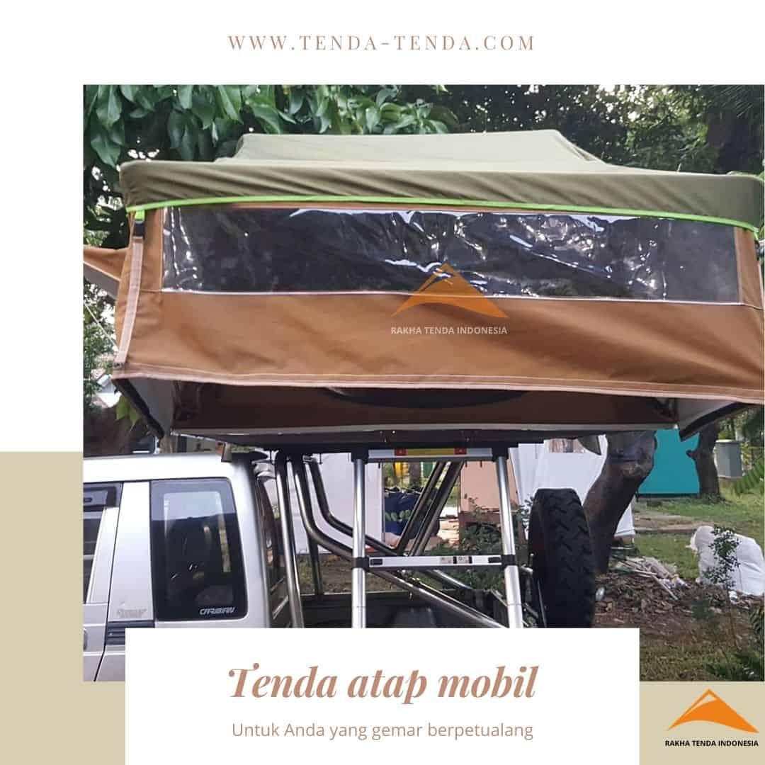 Tenda atap mobil