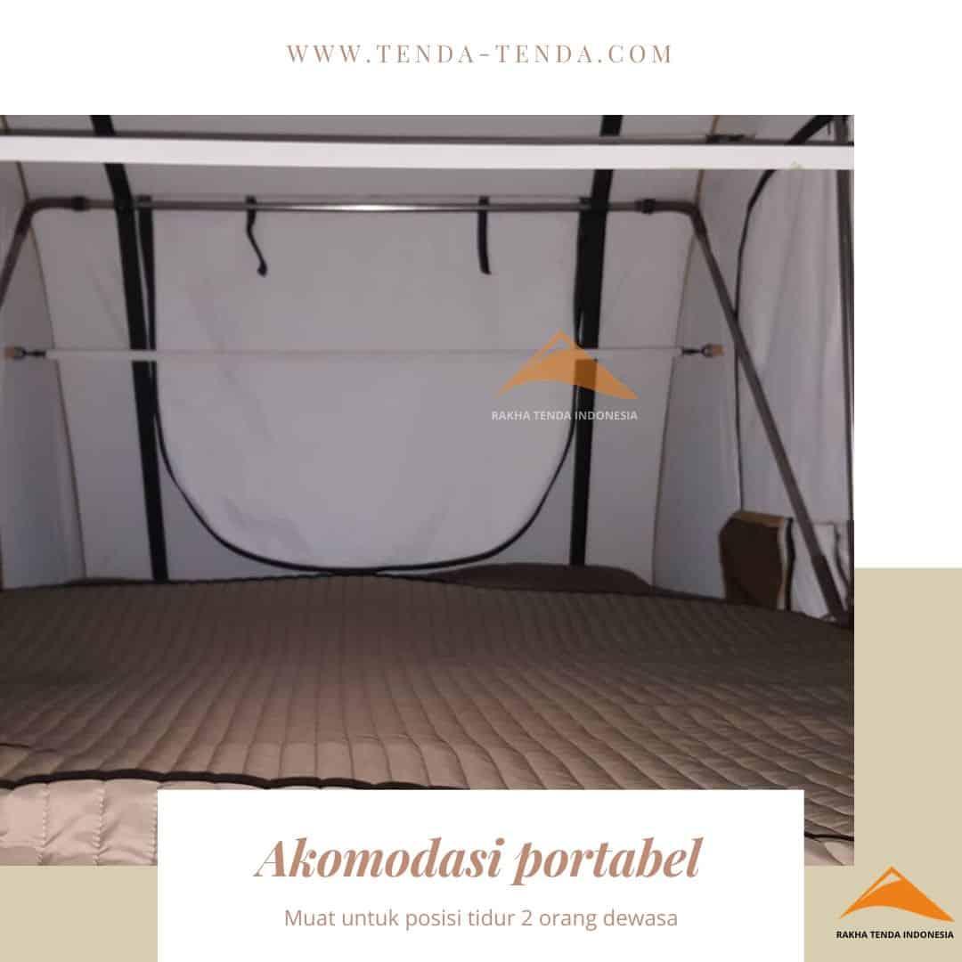 Roof tent untuk 2 orang