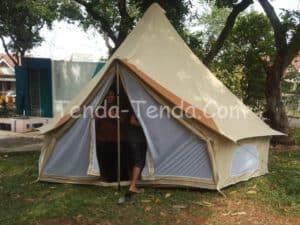 desain tenda glamping